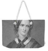 Charlotte Bronte, English Author Weekender Tote Bag by Photo Researchers