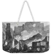 Chicago: Fire, 1871 Weekender Tote Bag