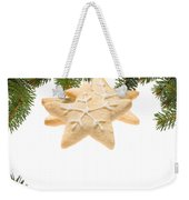Christmas Cookies Decorated With Real Tree Branches Weekender Tote Bag