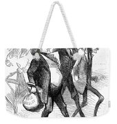 Civil War: Cartoon, 1861 Weekender Tote Bag