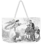 Civil War Cartoon Weekender Tote Bag