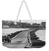 Civil War: Pontoon Bridge Weekender Tote Bag