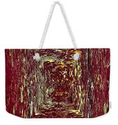 Coloristic Abstracts From Varikallio At Hossa Weekender Tote Bag