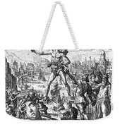 Colossus Of Rhodes Weekender Tote Bag