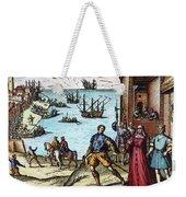Columbus: Departure, 1492 Weekender Tote Bag