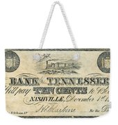 Confederate Currency Weekender Tote Bag