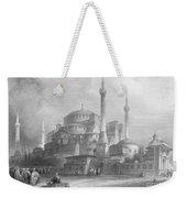 Constantinople: St. Sophia Weekender Tote Bag