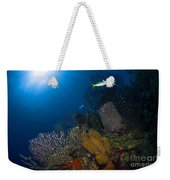 Coral And Sponge Reef, Belize Weekender Tote Bag