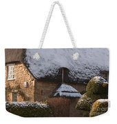 Cottage Weekender Tote Bag