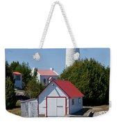 Cove Island Lighthouse Weekender Tote Bag
