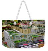 Covent Garden Flower Market Weekender Tote Bag