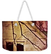 Creepy Abandoned House Weekender Tote Bag