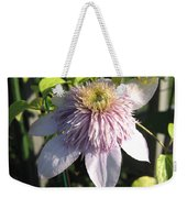 Double Clematis Named Empress Weekender Tote Bag