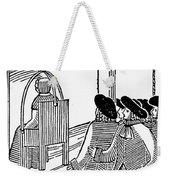 Ducking Stool Weekender Tote Bag