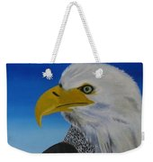Eagle At Dusk Weekender Tote Bag