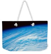 Earth From Space Weekender Tote Bag