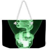 Energy Efficient Light Bulb Weekender Tote Bag