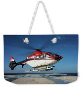 Eurocopter Ec135 Utility Helicopter Weekender Tote Bag