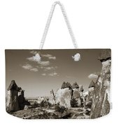Fairy Chimney In Goreme Weekender Tote Bag