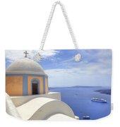 Fira - Santorini Weekender Tote Bag by Joana Kruse