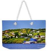 Fishing Village In Newfoundland Weekender Tote Bag