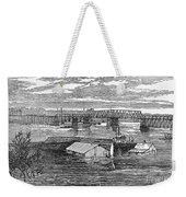 Flood: Clarksville, 1874 Weekender Tote Bag