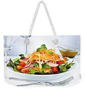 Garden Salad Weekender Tote Bag