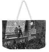 Garfield: Assassination Weekender Tote Bag
