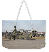 German Tiger Eurocopter At Fritzlar Weekender Tote Bag
