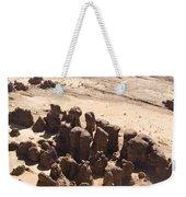 Giant Sandstone Outcroppings Deep Weekender Tote Bag