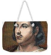 Giovanni Boccaccio Weekender Tote Bag