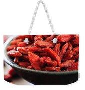 Goji Berries Weekender Tote Bag
