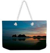 Golden Morning At A Beach  Weekender Tote Bag