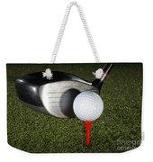 Golf Ball And Club Weekender Tote Bag
