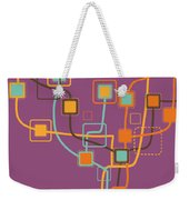 Graphic Tree Pattern Weekender Tote Bag by Setsiri Silapasuwanchai