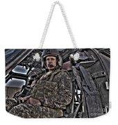 Hdr Image Of A Pilot Sitting Weekender Tote Bag