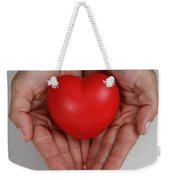 Heart Disease Prevention Weekender Tote Bag