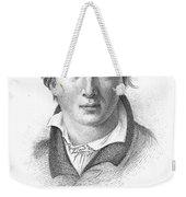 Heinrich Heine (1797-1856) Weekender Tote Bag