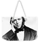Herbert Spencer, English Polymath Weekender Tote Bag by Science Source