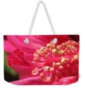 Hibiscus Named Luna Rose Weekender Tote Bag
