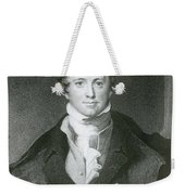 Humphry Davy, English Chemist Weekender Tote Bag