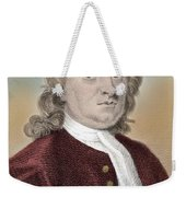 Isaac Newton, English Polymath Weekender Tote Bag by Science Source