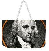 James Madison, 4th American President Weekender Tote Bag