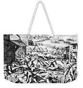 Jamestown: Massacre, 1622 Weekender Tote Bag