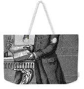 Jean Jacques Rousseau Weekender Tote Bag