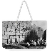 Jerusalem: Wailing Wall Weekender Tote Bag