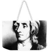 John Locke, English Philosopher, Father Weekender Tote Bag by Science Source
