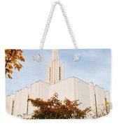 Jordan River Temple Weekender Tote Bag by La Rae  Roberts