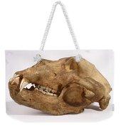 Kodiak Bear Skull Weekender Tote Bag