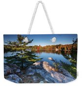 Lake George At Killarney Provincial Park In Fall Weekender Tote Bag